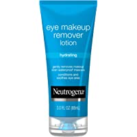 Neutrogena Hydrating Eye Makeup Remover Lotion, Gentle Daily Makeup Remover with Skin-Soothing Aloe and Cucumber…