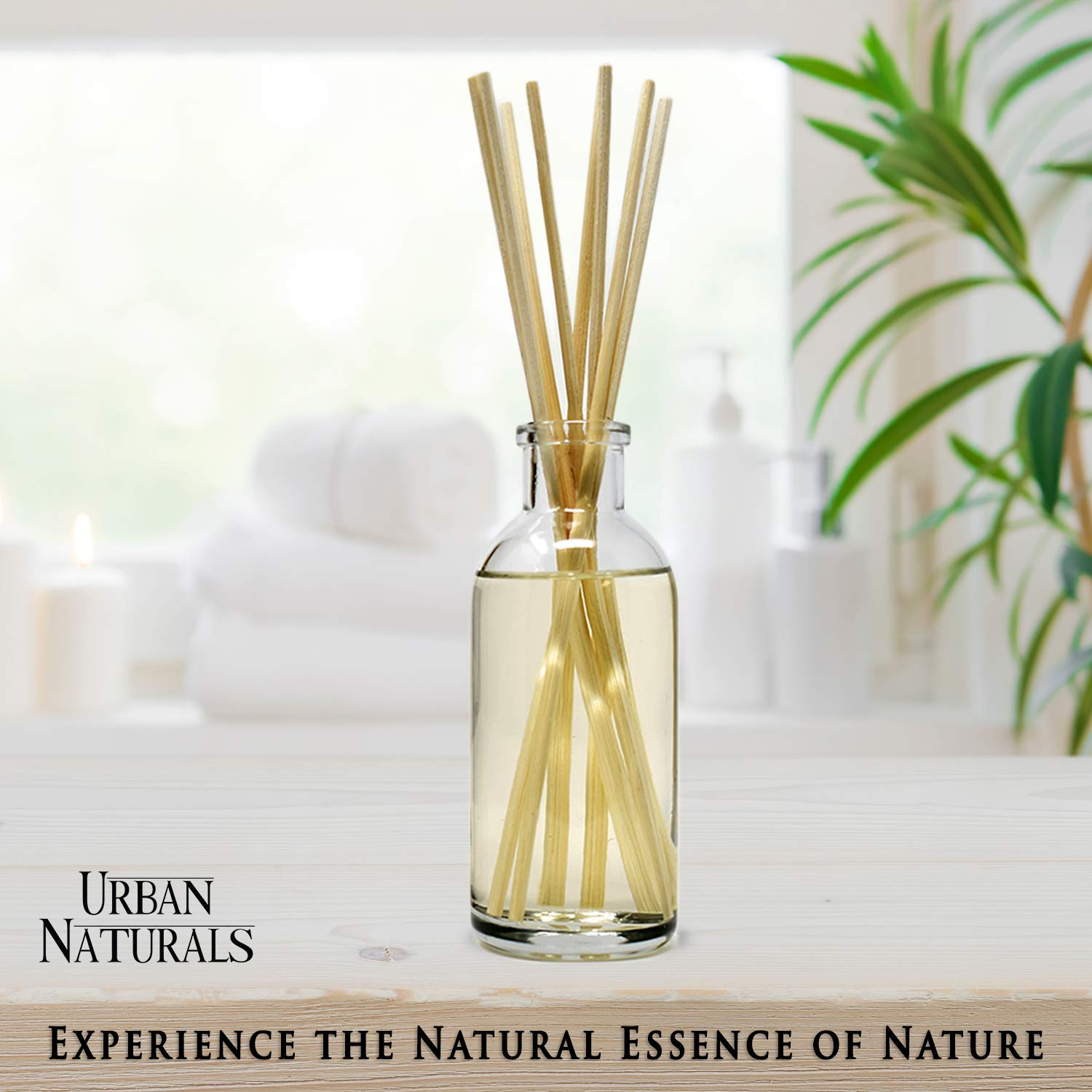 Urban Naturals Stress Relief Eucalyptus Spearmint Reed Diffuser Oil Refill | Fill Your own DIY Diffuser Bottle! Includes Replacement Reed Sticks by Urban Naturals (Image #7)
