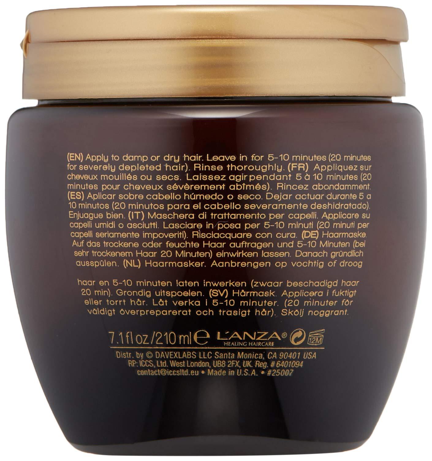 L'ANZA Keratin Healing Oil Intensive Hair Masque, 7.1 oz. by L'ANZA (Image #5)