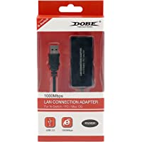 Mcbazel Dobe 1000Mbps USB3.0 to RJ45 LAN Adapter USB Network Adapter for Nintendo Switch PC Mac OS