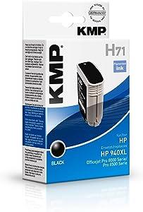 kmp H71 cartouche d'encre noir compatible avec HP C 4906 AE