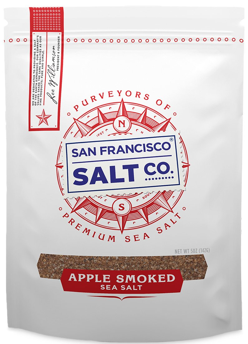 Applewood Smoked Sea Salt (5oz Pouch - Fine Grain)