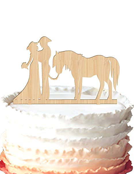 Fine Silhouette Cake Topper Cowboy Bride And Groom Wedding Cake Topper Personalised Birthday Cards Xaembasilily Jamesorg