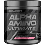 Cellucor Alpha Amino Ultimate EAA & BCAA Recovery Powder, Essential & Branched Chain Amino Acids For Post Workout Recovery, Strawberry Coconut, 20 Servings