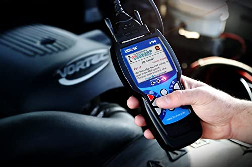 3150f is an Innova Scan Tool that allows you to connect with a cable or through Bluetooth