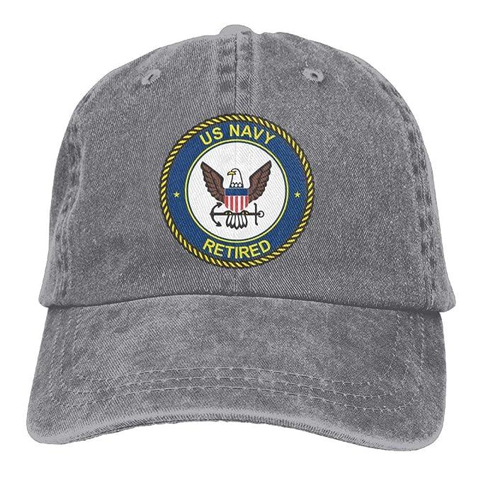 4d276982 Navy Retired Women's Baseball Cap Retro Sun Visor Golf Hat at Amazon ...