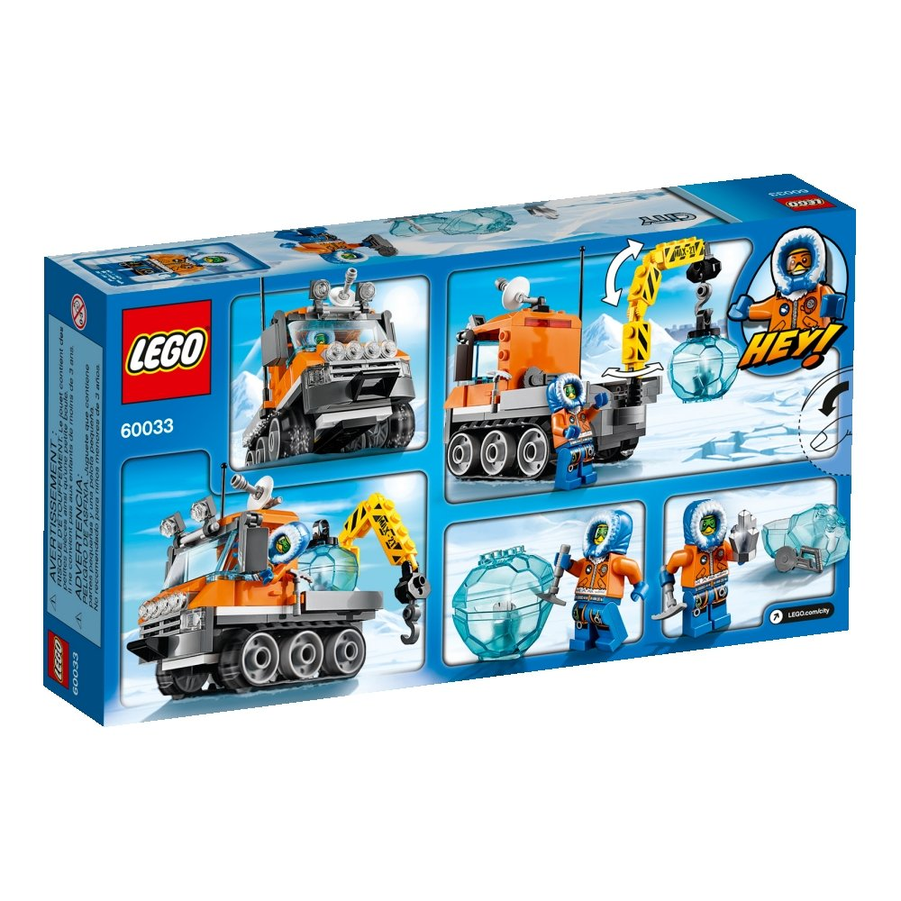 Pin lego 60032 city the lego summer wave in official images on - Amazon Com Lego City Arctic Ice Crawler 60033 Building Toy Toys Games