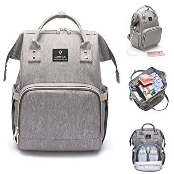 d9d6b1c4cf Amazon.com   Baby Diaper Bag Backpack