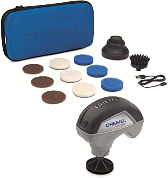 Dremel Versa High-Speed Power Cleaner Kit Sans Fil Nettoyage Outil//Spin Scrubber