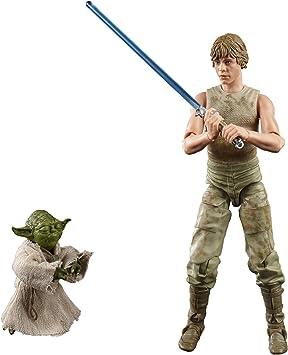 Oferta amazon: Star Wars The Black Series Luke Skywalker y Yoda (Entrenamiento Jedi) a Escala de 15 cm Star Wars: The Empire ataca Figuras del 40 Aniversario