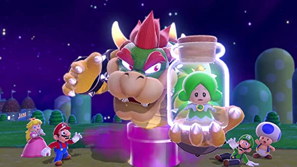 Super Mario 3D World + Bowser's Fury Nintendo Switch video game