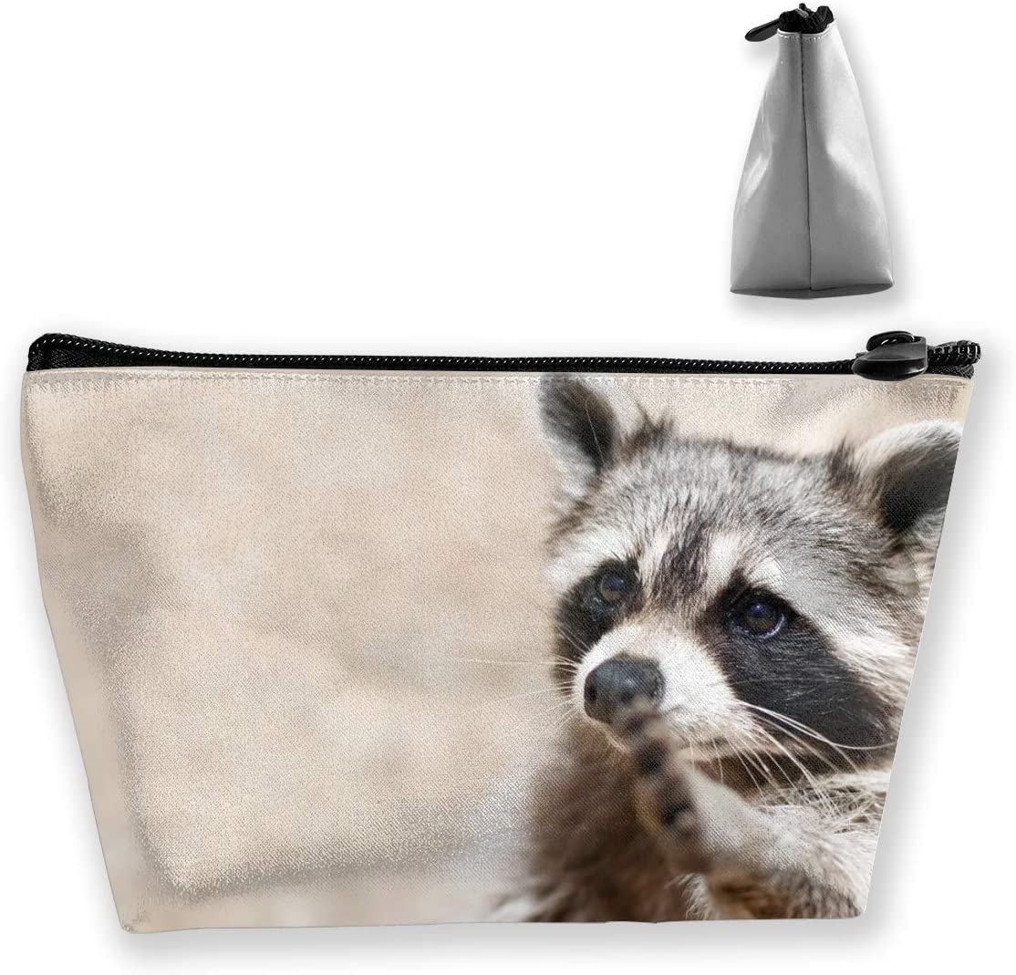 Smart Animals Racoon Makeup Bags Toiletry Pouch Travel Accessories Amazon Co Uk Luggage