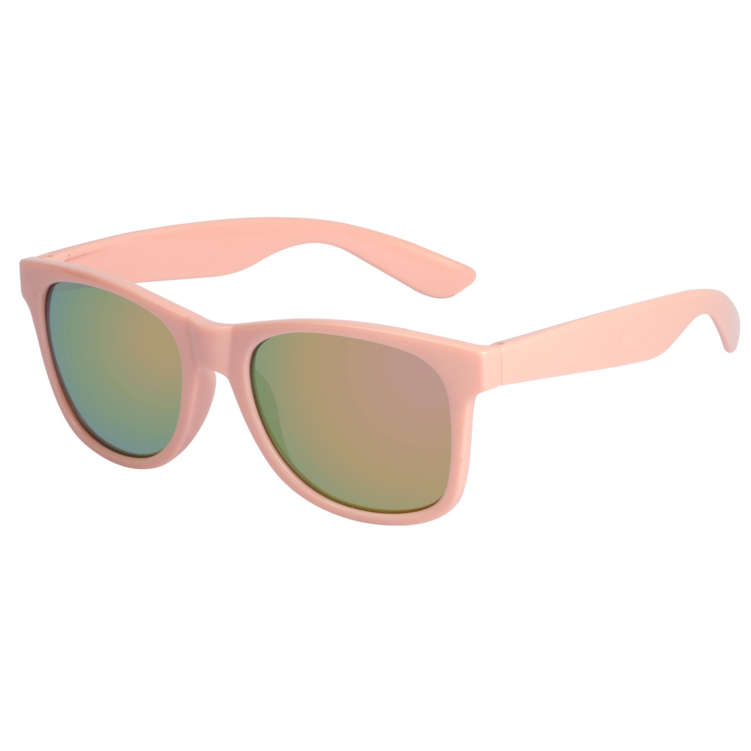 Family USA Flag Navigator Sunglasses with Mirror UV400 Lens for women men by COCOSAND