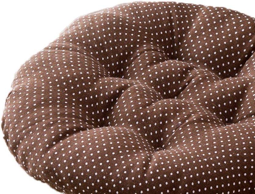 YAXY Coj/ín de la silla almohadillas redondas Silla de algod/ón con nudos flojos espesar los cojines del asiento del amortiguador de la almohadilla por oficina el hogar o el coche que se sienta algod/ón