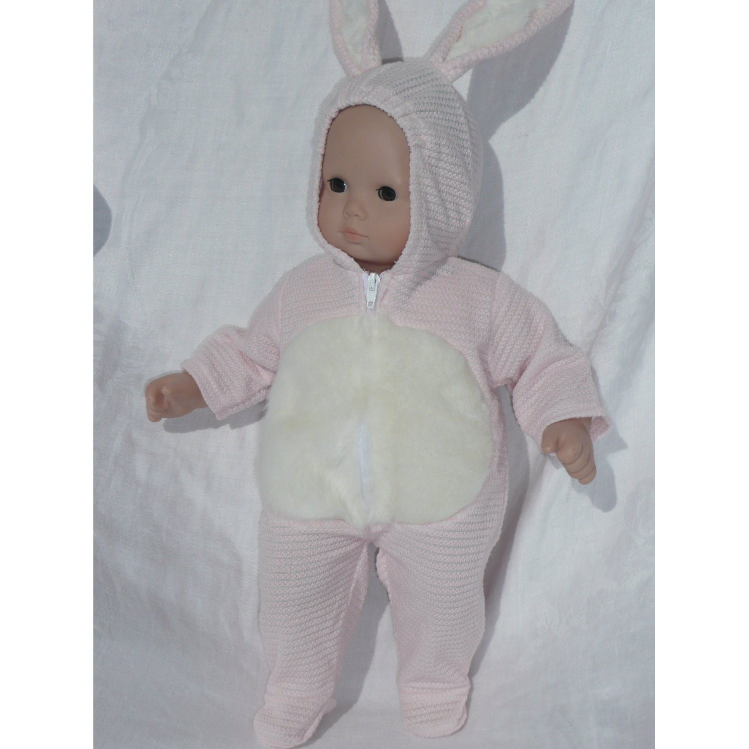 Amazon Bitty Twins Clothes PINK Bunny Costume fits American