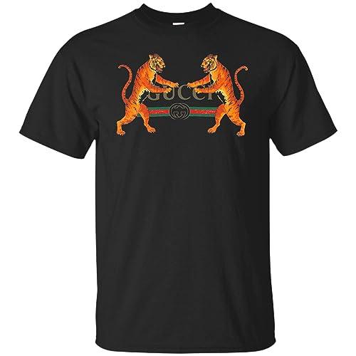 8e8929e8 Amazon.com: Gucci Vintage Shirt replica tier logo with tigers: Handmade
