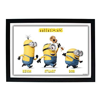 Buy Minions HD Photo Frame Kevin Stuart Bob / Despicable Me ...