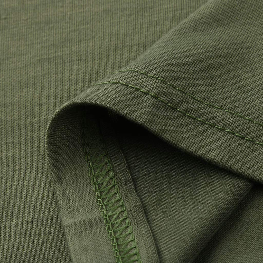 Mens Shirts Puyujin Men Casual Short Sleeve V-Neck Slim Muscle Fit Shirts Solid Tee Top Shirt Blouse