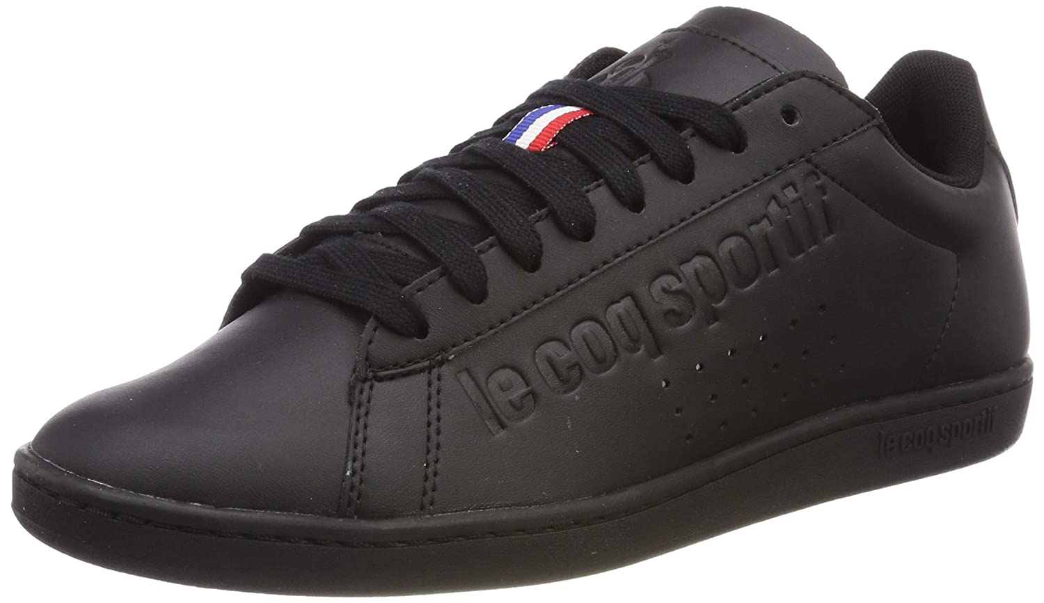 Le Coq Sportif Courtset Triple Black, Zapatillas Unisex Adulto