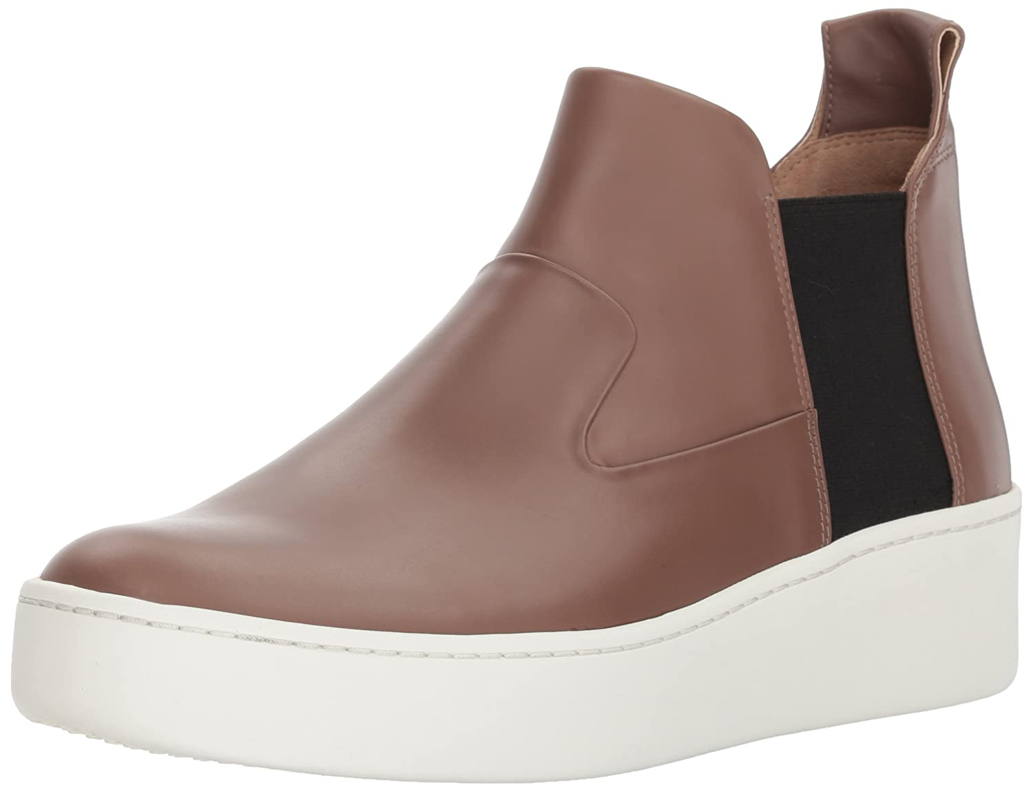 Via Spiga Women's Eren Mid-Height Sneaker B074T2NZNC 5 B(M) US|Mink Leather