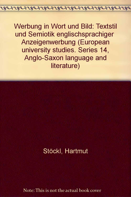 Werbung in Wort und Bild: Textstil und Semiotik englischsprachiger ...
