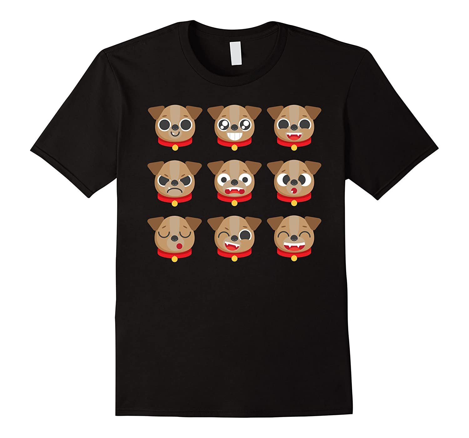 Awesome Dog Emoticon T-shirt For Fun Cheap Costume Outfits-FL