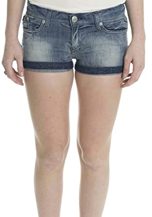 ec3cb4e97b0650 Rock & Republic Women's Lulu Lowrise Denim Shorts in Sedition Blue ...