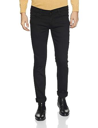0eb1ca07 Lee Men's Skinny Fit Jeans (L33087248147034033_Rinsed Jet Black_34W x ...