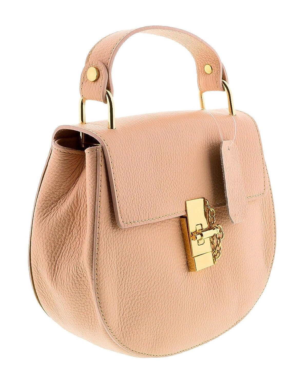 HS1151 RA CIRCE Rosa Leather Top Handle/Shoulder Bag
