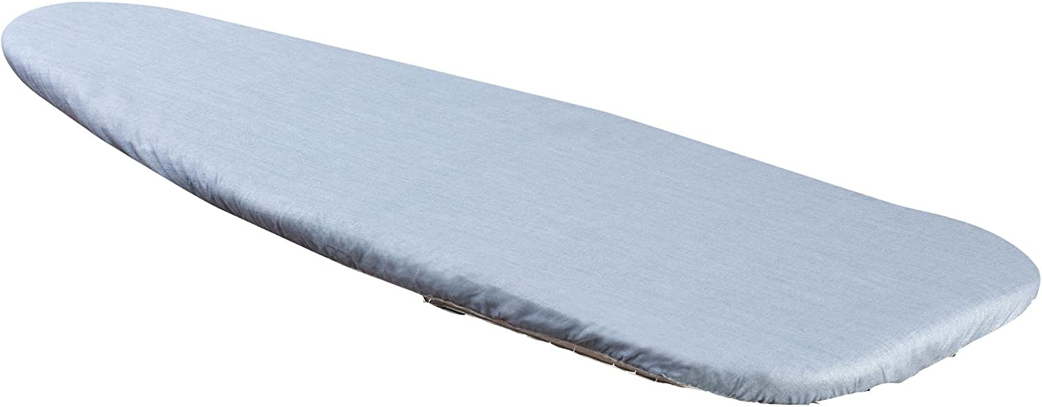 Household Essentials 1 Piece Tabletop Ironing Board Cover & Pad 100% Cotton Cover & 4 Mm Fiber Pad
