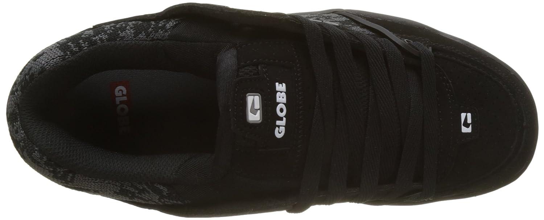 Globe Fusion, Scarpe da Skateboard Uomo B0785P5CFG 45 45 45 EU Nero (nero   Camo   Jacquard 0) | Reputazione affidabile  | In vendita  | Folle Prezzo  | Specifica completa  | Queensland  | di moda  1a3aeb