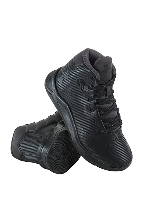 ffe9d367fac08 Under Armour Boys PS Curry 2.5 Colorblock High-Top Basketball Shoes ...