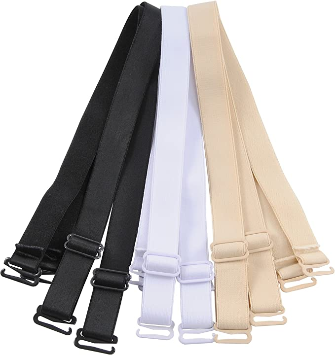 elastico regolabile 12 mm multicolore Cinghie di ricambio per reggiseno a spalla 15 mm 18 mm