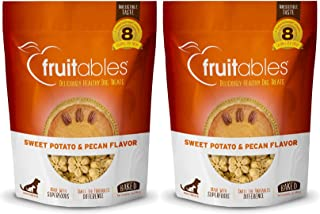 product image for Fruitables 7 Ounce Crunchy Sweet Potato and Pecan Biscuit Training Treat for Dogs