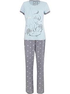 Disney Tinkerbell Womens Tinkerbell Pajamas
