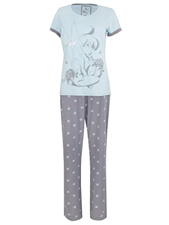 Disney Tinkerbell Womens Tinkerbell Pajamas Small