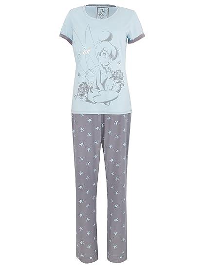 a0e9cbb0ed4f2a Disney Tinkerbell Damen Tinkerbell Schlafanzug: Amazon.de: Bekleidung