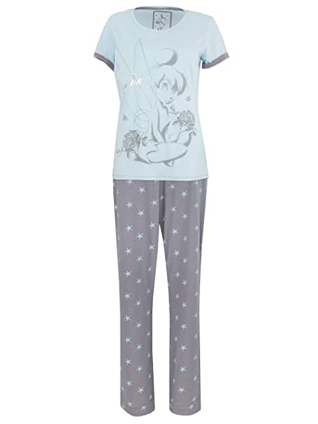 Disney Tinkerbell - Pijama para mujer - Campanilla - Small