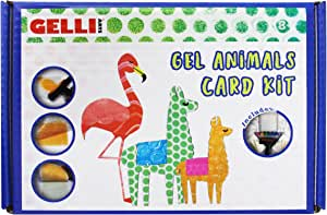 Gelli Arts Gel Printmaking Kit, Multi-Colour, Large