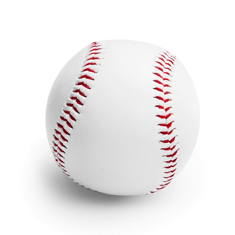 TEPSMIGO Bate de Beisbol/Bate de Béisbol de Aluminio/Béisbol en Aluminio (Blanco, 9inch)