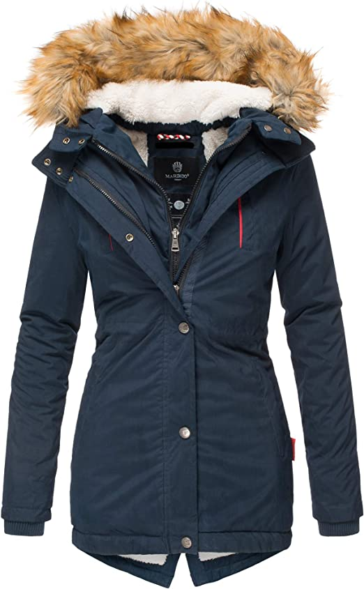 designer damen winter parka warme winterjacke mantel jacke b601