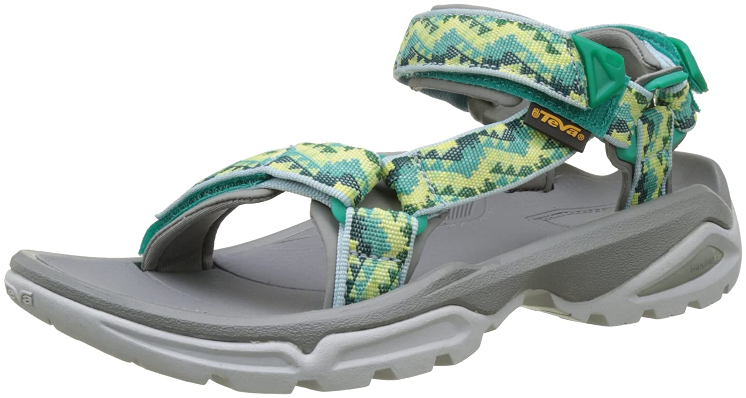 Teva Women's W Terra Fi 4 Sandal B01IPYXTIC 6.5 B(M) US|Palopo Sea Green