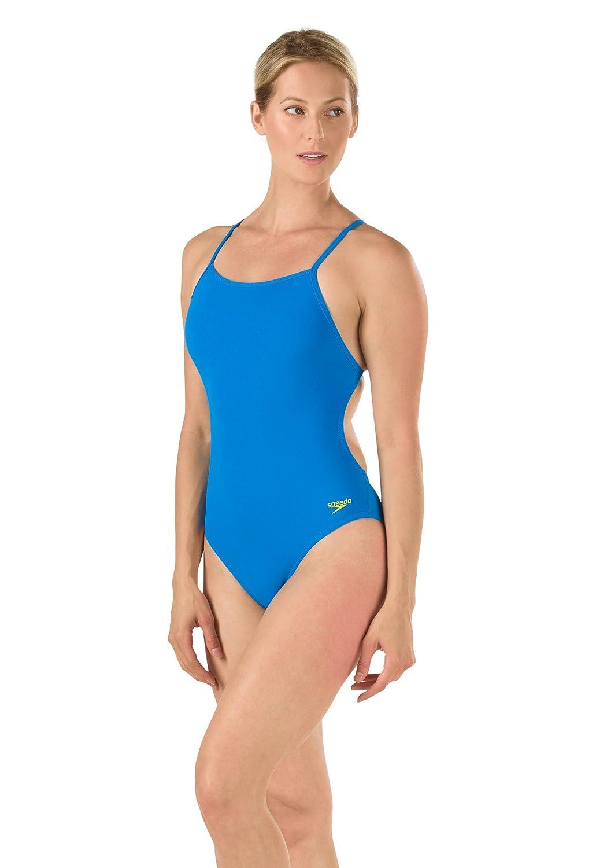 Speedo Endurance Lite da Donna The One Turnz One Piece Swimsuit, Donna, 8191530-422, Ultra blu, Dimensione 6 32