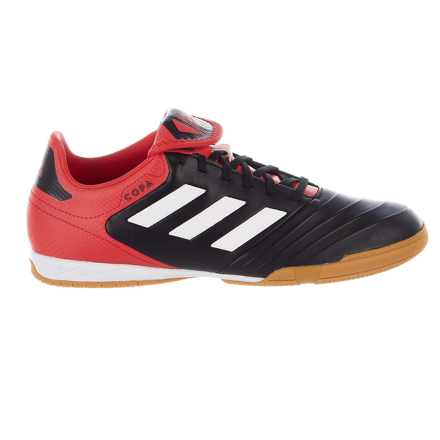 adidas Men's Copa Tango 18.3 in Soccer Shoe, Core Black/White/Real Coral, 9 M US