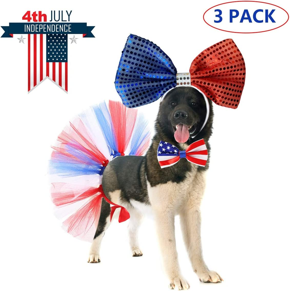 ghdonat.com Apparel & Accessories Dogs Vehomy 4th July Pet Costume ...