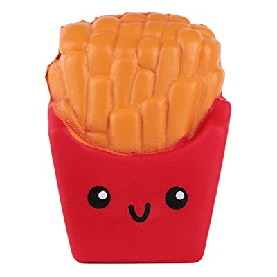 Anboor 3.9 Inches Slow Rising Kawaii Scented Soft French Fries Squishies Food Toy 1 Pcs Color Random: Toys & Games [5Bkhe0706305]