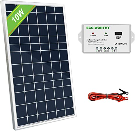 Best Portable Solar Charger 2021 Amazon.com: ECO WORTHY 10W 12V Portable Waterproof PV
