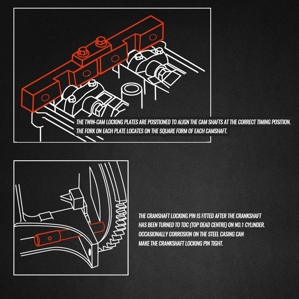 Amazon com: EWK BMW Camshaft Alignment Cam Timing Locking