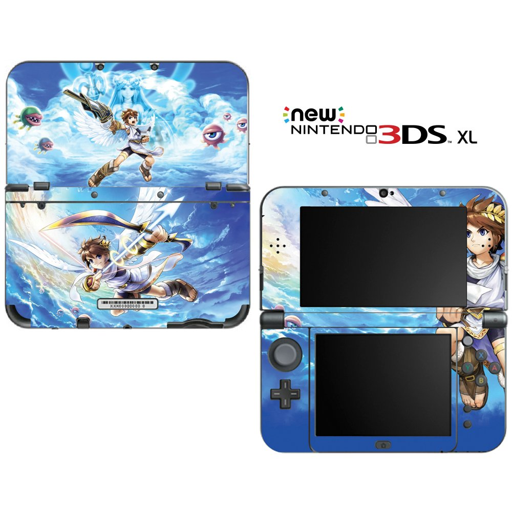 Kid Icarus: Uprising Decorative Video Game Decal Cover Skin Protector for New Nintendo 3DS XL (2015 Edition)