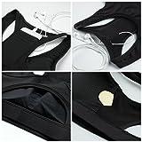Zenwow Women's High Impact Back Pocket Sports Bra